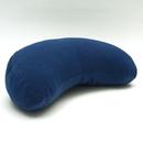 mezzaluna cuscino blu