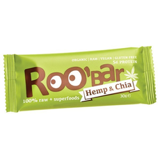 ROO'BAR proteine Canapa-Chia 30g superfood