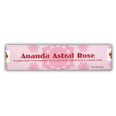 Incenso Ananda Rosa Astrale