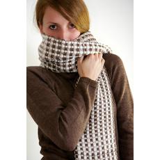 sciarpa di lana biologica