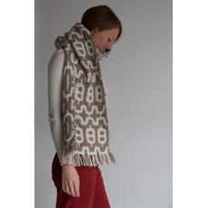 sciarpa di lana biologica naturale