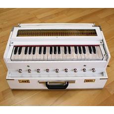Harmonium bianco classico