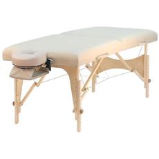 letto massaggio ayurvedico beige