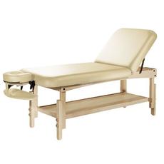 Lettino massaggio fisso TAOline Praxis top schienale