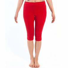 legging yoga corto rosso chakra