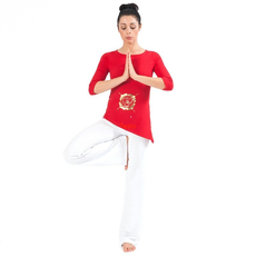 t-shirt muladhara rossa chakra