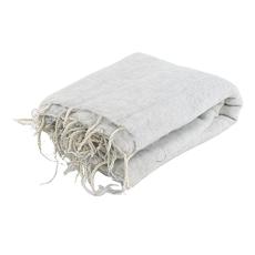 Coperta per meditazione XL - bianco/grigio