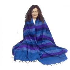 Coperta per meditazione XL - blu/viola