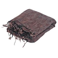 Coperta per meditazione XL-marrone rosso