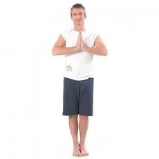 pantalone corto yoga uomo