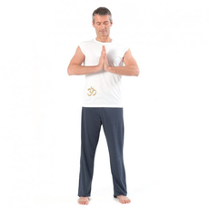 pantalone yoga uomo lungo