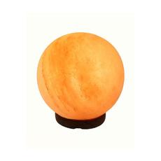 lampada di sale rosa sferica