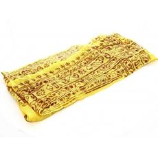 sciarpa mantra giallo